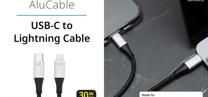 Just Mobile、断線に強いUSB-C to Lightningケーブル発売