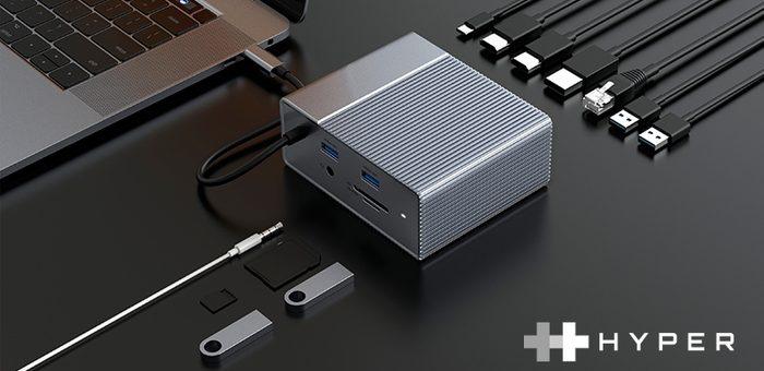 【米Hyper社】超高速データ転送に対応したUSB-Cハブ/ドッキングステーション 「HyperDrive Gen2」新発売  ~業界唯一のポート組合せ、2倍のスピード&パワーを実現~