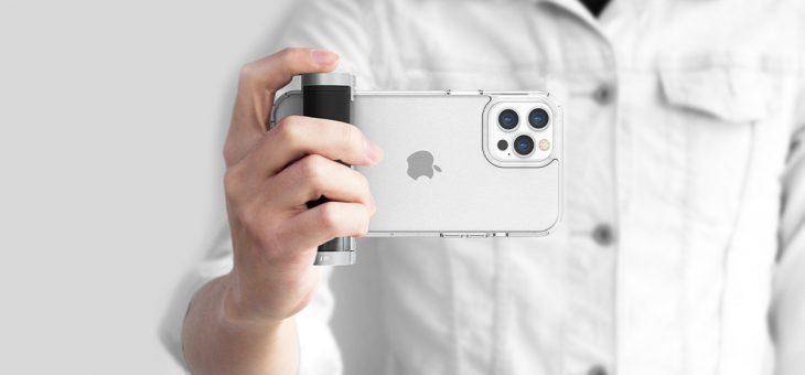 スマホで本格的なカメラ撮影を可能にする多機能グリップ「ShutterGrip2」販売開始