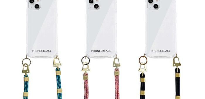 PHONECKLACE、色鮮やかな新作ショルダーストラップケースなどを追加した iPhone13シリーズ向けコレクションを発売