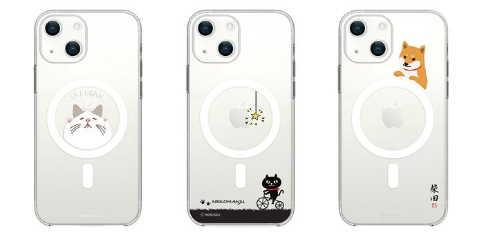 abbi FRIENDS、フレンズヒルキャラクターとコラボしたMagSafe対応ケースなどiPhone13シリーズ向けラインアップを発売