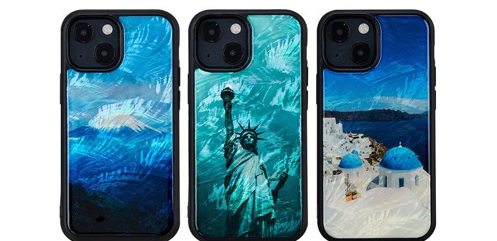 ikins、天然貝が優雅にきらめくiPhone 13シリーズ向けケース発売